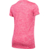 Under Armour Women's Twist Tech V Neck T-Shirt - Knock Out/Metallic Silver: Image 2