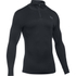Under Armour Men's ColdGear Infrared Elements 1/4 Zip Long Sleeve Shirt - Black: Image 1