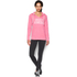 Under Armour Women's Favourite Fleece Hoody - Knock Out: Image 3