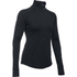Under Armour Women's ColdGear Armour 1/2 Zip Long Sleeve Shirt - Black: Image 1