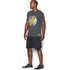 Under Armour Men's Retro Flash Short Sleeve T-Shirt - Carbon Heather: Image 4