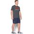 Under Armour Men's Sportstyle Logo T-Shirt - Carbon Heather/White/Dark Orange: Image 4
