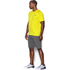 Under Armour Men's Tech Short Sleeve T-Shirt - Flash Light/Stealth Grey: Image 3