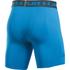 Under Armour Men's Armour HeatGear Compression Training Shorts - Brilliant Blue/Stealth Grey: Image 2