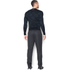 Under Armour Men's ColdGear Jacquard Crew Long Sleeve Shirt - Black/Steel: Image 5