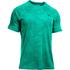 Under Armour Men's Jacquard Tech Short Sleeve T-Shirt - Green: Image 1