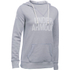Under Armour Women's Favourite Fleece Hoody - True Grey Heather: Image 1