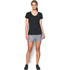 Under Armour Women's Jacquard Tech Short Sleeve T-Shirt - Black: Image 3