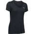 Under Armour Women's Jacquard Tech Short Sleeve T-Shirt - Black: Image 1