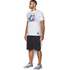 Under Armour Men's Retro Batman Short Sleeve T-Shirt - White: Image 4