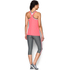 Under Armour Women's HeatGear Armour Racer Tank - Brilliant Pink/Metallic Silver: Image 5