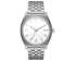 Nixon The Time Teller Watch - White: Image 1