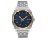 Nixon The Time Teller Watch - Gold/Blue Sunray: Image 1