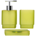 Sorema Frost Bathroom Accessories - Pistachio (Set of 3): Image 1