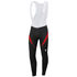 Sportful Men's Giro 2 Bib Tights - Black/Red: Image 1