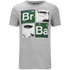 Breaking Bad Men's Square T-Shirt - Light Grey Marl: Image 1
