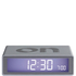 Lexon Flip Clock - Aluminium: Image 1