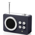 Lexon Mini Dolmen Radio - Black: Image 1