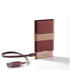 Lexon Fine Power Bank Mobile Charger - Burgundy: Image 4