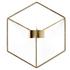 Menu POV Candle Holder Wall - Brass: Image 1