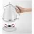 De'Longhi Elements Kettle - White: Image 2