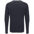 Dissident Men's Krios Crew Neck Raglan Jumper - Dark Navy: Image 2