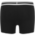 Puma Men's 2-Pack Placed Logo Boxers - Black: Image 3