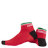Nalini Strada Socks 6cm - Red: Image 1