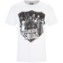 DC Comics Men's Suicide Squad Sheild T-Shirt - White: Image 1