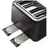 Tefal Maison TT7708UK Stainless Steel 4 Slice Toaster - Chalkboard Black: Image 3
