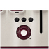 Tefal Maison TT7705UK Stainless Steel 4 Slice Toaster - Pomegranate Red: Image 6