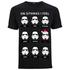 Star Wars Men's Stormtrooper Emotions Christmas T-Shirt - Black: Image 1