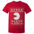 T-Shirt Homme Namco Merry PacMan - Rouge: Image 1