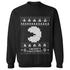 Namco Men's Merry Pac-Man Christmas Sweatshirt - Black: Image 1