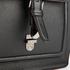 Ted Baker Men's Raised Edge Leather Flight Bag - Black: Image 6