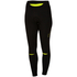 Castelli Women's Chic Tights - Black/Yellow Fluro: Image 1
