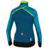 Castelli Women's Trasparente 3 Long Sleeve Jersey - Turquoise/Blue: Image 2
