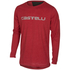 Castelli CX Long Sleeve Top - Red: Image 1