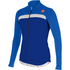 Castelli Criterium Long Sleeve Jersey - Blue/White: Image 1