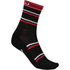 Castelli Gregge 12 Cycling Socks - Black/Red: Image 1