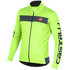 Castelli Raddopia Jacket - Yellow Fluro/Grey: Image 1