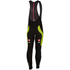 Castelli Velocissimo 3 Bib Tights - Black/Yellow Fluro: Image 2