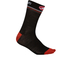 Castelli Atelier 13 Cycling Socks - Black/Red: Image 1
