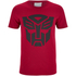 Transformers Men's Transformers Black Emblem T-Shirt - Red: Image 1