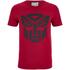Transformers Herren Transformers Black Emblem T-Shirt - Rot: Image 1