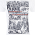 Transformers Mens Comic Strip T-Shirt - Wit: Image 4