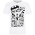 DC Comics Men's Batman Comic Strip T-Shirt - White: Image 1