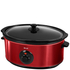 Swan SF17030ROUN 6.5L Slow Cooker - Rouge: Image 1