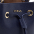 Furla Women's Stacy Mini Drawstring Bucket Bag - Navy: Image 4