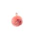 Furla Women's Bubble Fur Pom Pom Keyring - Paprika: Image 1